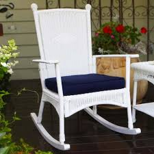 White Rocking Chair Outdoor by Tortuga Outdoor Portside Classic Wicker Rocking Chair Wicker Com