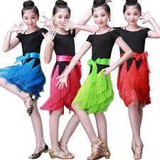 kids samba new child black blue pink sequined dress