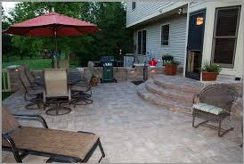 Backyard Paver Ideas Backyard Paver Patio Ideas Luxury With Photo Of Backyard Paver