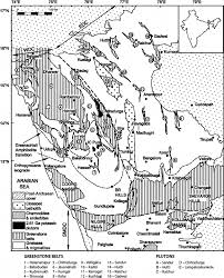 geological sketch map of the dharwar craton showing the greenstone