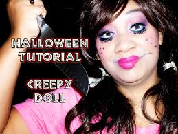 halloween tutorial creepy doll makeup tutorial honeygirl u0027s