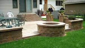 Large Firepits Large Outdoor Pits Upgrading The Home Display With