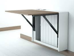 Folding Table Attached To Wall Wall Table Mounted View In Gallery Wall Mounted Desk Diy Wall