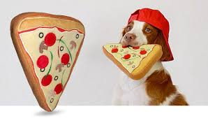 pizza dog bed pridebites personalized pet products as seen on shark tank