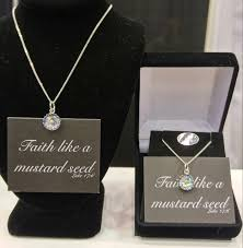 faith of a mustard seed necklace mustard seed necklace