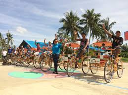 philippines pedicab one year after typhoon haiyan u2013 presbyterian world service