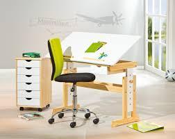Kiefer Schreibtisch Anas Kinderschreibtisch Mit Schublade Kiefer Massiv Platte Weiß