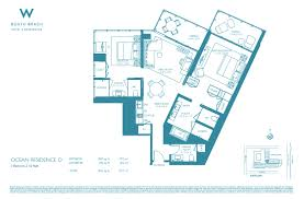 Antilla Floor Plan by W South Beach Marika Hartman