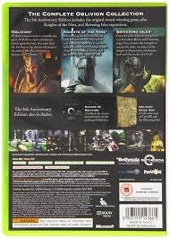 Oblivion Map The Elder Scrolls Iv Oblivion 5th Anniversary Edition Xbox 360