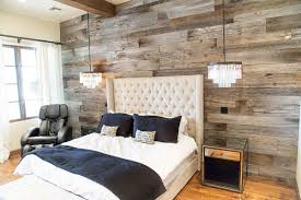 tobacco barn grey wood wall covering master bedroom barn wood