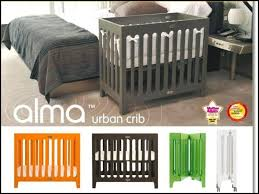 Alma Mini Crib Bloom Alma Mini Crib Mattress Nursery Playroom