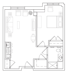 One Bedroom Floor Plans For Apartments Memory Care Floor Plans For Assisted Living Homes In Ma