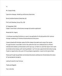 sample cover letter template 19 free documents download in pdf