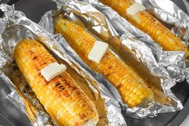How To Roast Garlic In Toaster Oven Oven Roasted Corn On The Cob With Garlic Butter Ahead Of Thyme