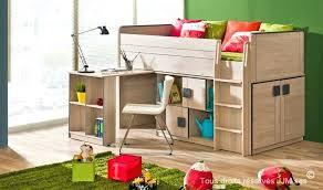 lit bureau combiné lit et bureau enfant lit enfant combine bureau et commode gum