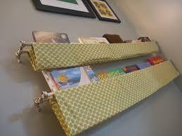 Fabric Sling Bookshelf Nursery Book Slings Domestic Adventure
