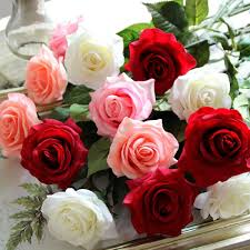 popular real touch decorative flowers buy cheap real touch