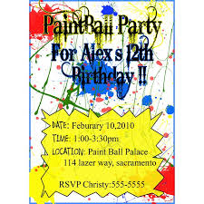 19 best paintball birthday bash images on pinterest paintball
