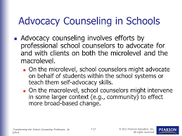 Counseling In Schools Inc Leadership And Achievement Advocacy For Every Ppt
