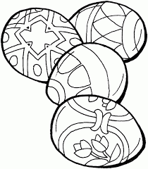 simple easter coloring pages easter coloring