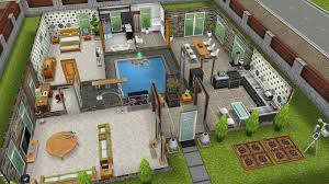 sims freeplay 2 story mansion floor plan