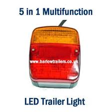 led trailer tail lights buy a 5 in 1 multi function led rear trailer light eu approved