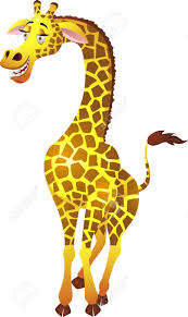 giraffe cartoon royalty free cliparts vectors and stock