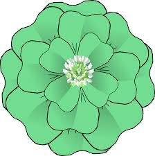 clipart flower 4 leaf clover corsage resubmission
