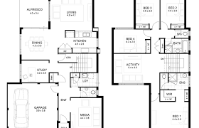 house plans monster storey house plans home design ideas modern 2 bedroom simple plan
