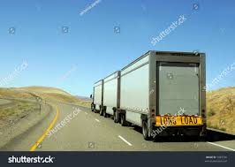 semi truck semi truck going fast on interstate stock photo 5485726 shutterstock