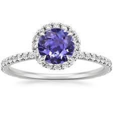 purple diamond engagement rings enchanting purple engagement rings brilliant earth