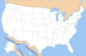 Map Of American States File Map Of Usa Without State Names Revised Svg Wikimedia Commons