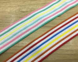 elastic ribbon by the yard elastic ribbon etsy