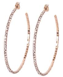 hoop earrings tammy spice jewelry rhinestone hoop earring