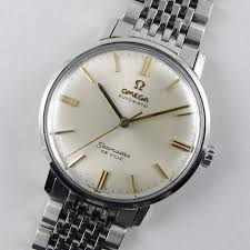 stainless steel bracelet omega watches images Steel omega seamaster de ville ref 165 020 vintage wristwatch jpg