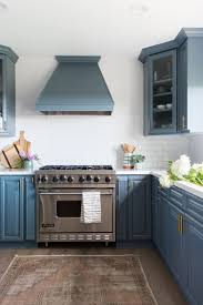 painting kitchen cabinets grey blue 5 gorgeous blue paint colors for the kitchen
