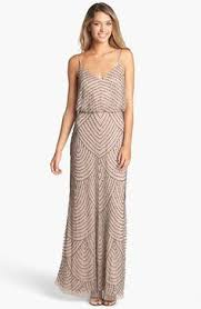 bridesmaid dresses nordstrom spaghetti sequin blouson gown sequined