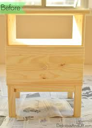 Ikea Tarva Nightstand Ikea Nightstand Makeover Delicious And Diy