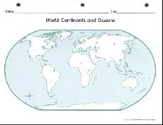 blank continent map geography outline maps blank maps product browse