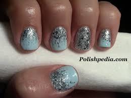 reverse glitter gradient nails youtube