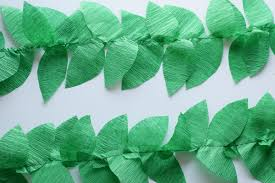 where to buy crepe paper diy crepe paper vine balloons bunny baubles