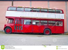 Double Decker Bus Floor Plan Inside A Double Decker Bus Stock Photo Image 69495528