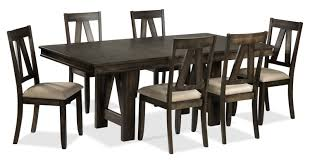 7 Piece Dining Room Set by Thompson 7 Piece Dining Room Set Espresso Leon U0027s
