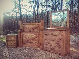 Country Bed Frame 7 Pc Single X Barndoor Bed Price Starting At