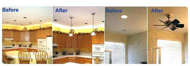 how to replace a recessed can light fixture can i replace a recessed light with ceiling fan www
