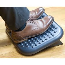 foot elevation under desk adjustable footrest under desk foot rest for office angled ergonomic