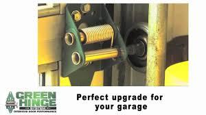 Overhead Door Hinges Sealing Overhead Garage Doors Green Hinge System
