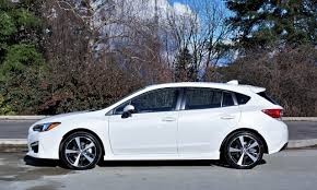 small subaru hatchback 2017 subaru impreza sport tech 5 door road test carcostcanada
