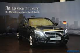 mercedes maybach 2010 my2017 mercedes maybach s600 guard rides into india priced at inr