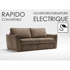 canape convertible ouverture electrique canapé rapido automatiko taupe ouverture fermet achat vente